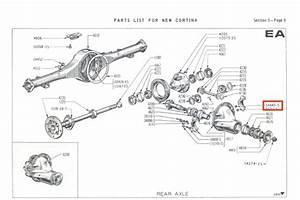 Mk2 Cortina Differential Locking Nuts Gt Lotus Savage