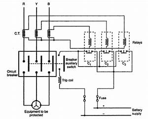 trip circuit of a circuit breaker repository nextgr With interlocked current trip relay