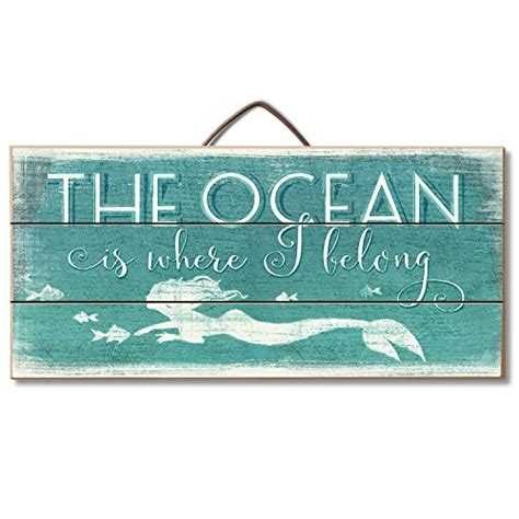 """Beach Sign """"the Ocean Is Where I Belong"""" Table Or Wall. Sleep Signs. Hair Salon Signs. Duck Signs. Letting Go Signs Of Stroke. Deaths Signs. Personality Disorder Signs. Parade Signs. Error Signs Of Stroke"""