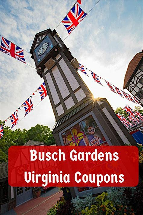 busch gardens specials busch gardens virginia coupons