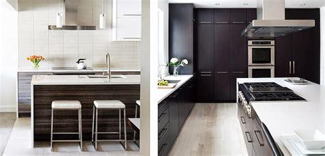 marzua muebles de cocina en maderas oscuras