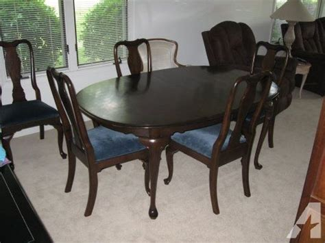 Dining Room Furniture Nc by Solid Cherry Dining Room Table With 6 Chairs Greensboro