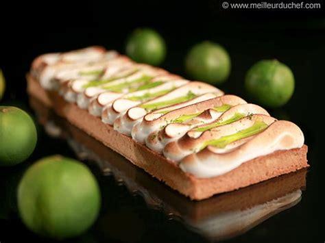 cours cuisine lignac tarte au citron vert meringuée notre recette avec photos