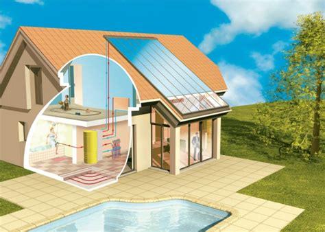 chauffage solaire pour maison opter pour le chauffage solaire pour chauffer sa maison