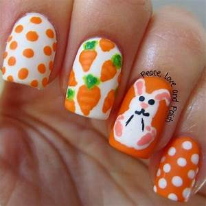 Ready for easter super cute nail art designs