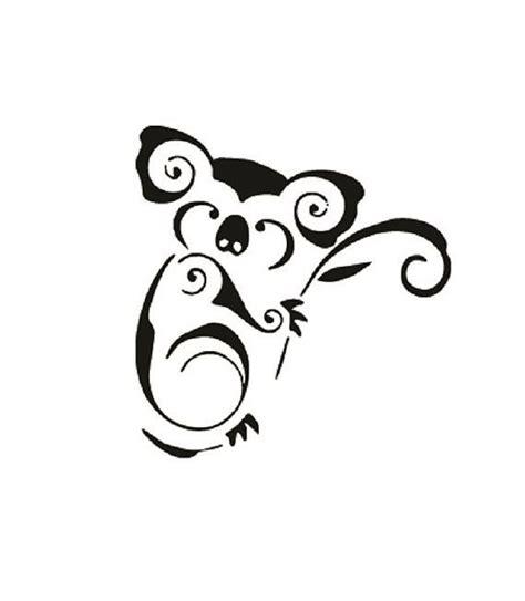 tribal koala bear koalas pinterest tattoo hennas