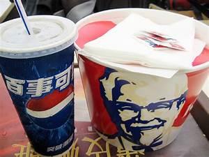 KFC fried chicken and Pepsi | Food Photoblog of the No ...
