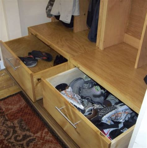 images  storage bench plans  pinterest