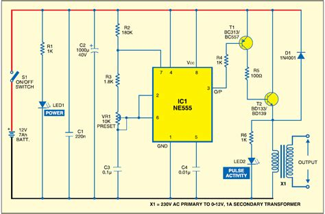 electric fence charger schematic wiring diagrams image