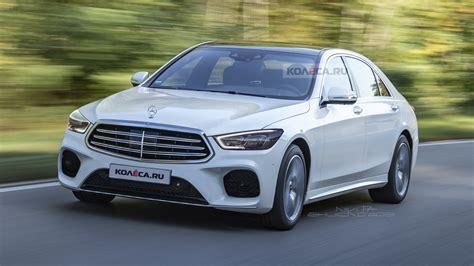 New Mercedes Sclass by 2020 Mercedes S Class Prototype Filmed In German Traffic