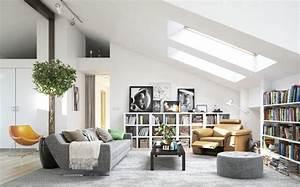 Deco Design Salon : 25 id es design pour la d co salon chaleureux en hiver ~ Farleysfitness.com Idées de Décoration