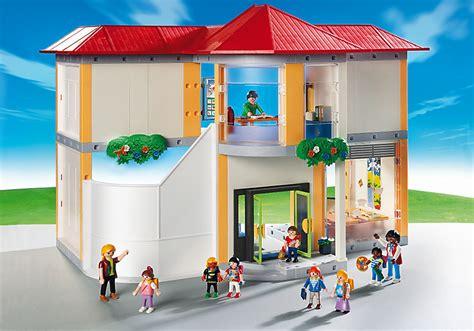 chambre cdiscount playmobil 5923 ecole avec 3 salles de classe achat