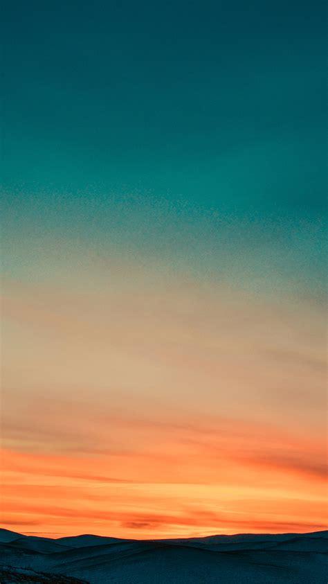 Orange Sky Wallpaper Iphone iphone 8 plus