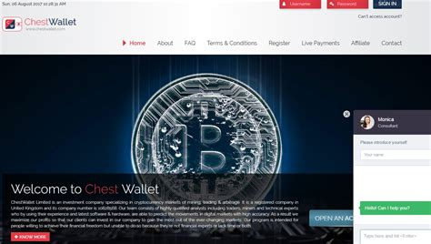bitcoin cloud mining center review of the investment bitcoin project chestwallet