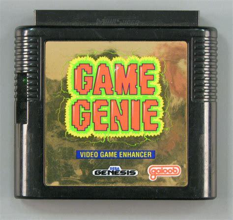 Game Genie For Sega Genesis Cash For Gamers