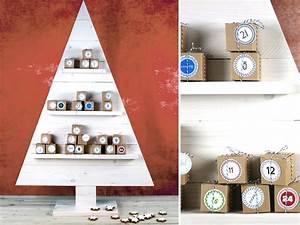 Weihnachtsbaum Deko Basteln : weihnachtsbaum basteln diy adventskalender kellerherz ~ Lizthompson.info Haus und Dekorationen
