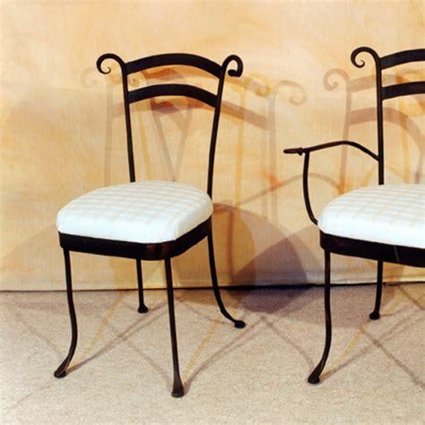 chaise de salle 224 manger en fer forg 233 pour int 233 rieur