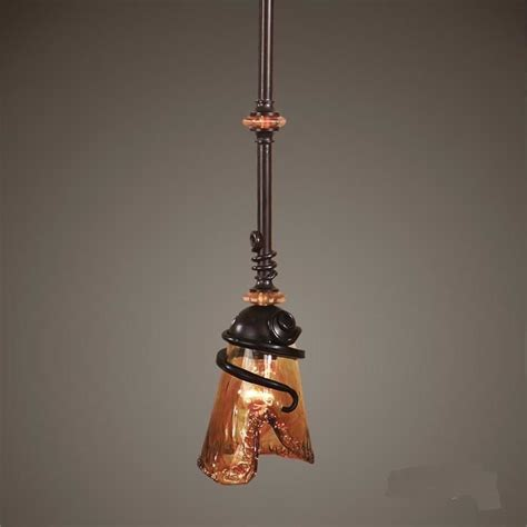 glass pendant light kitchen island fixture