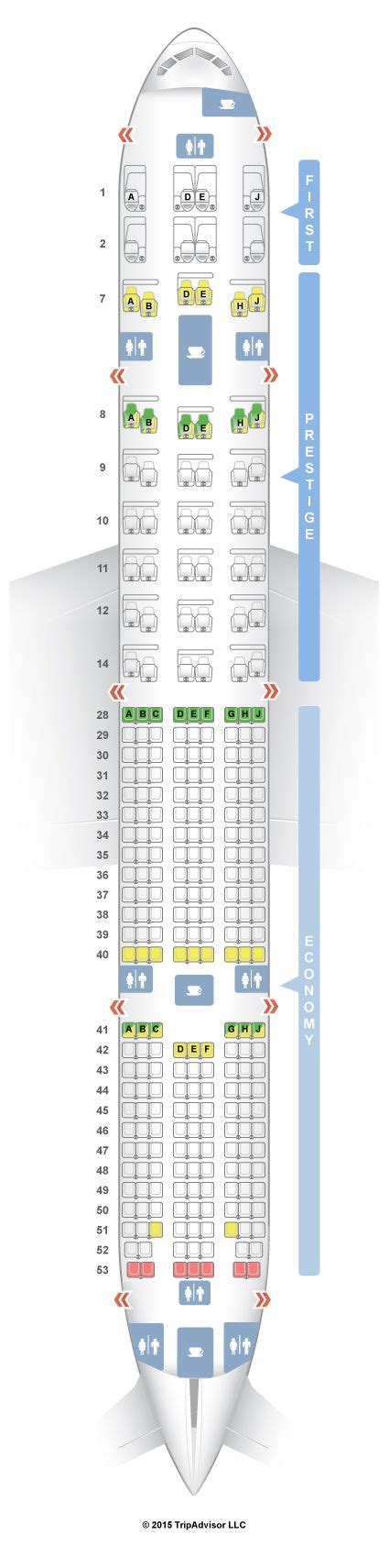 plan si鑒es boeing 777 300er 25 best ideas about boeing 777 300er seating on