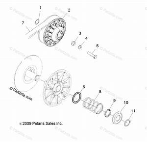 Polaris Side By Side 2010 Oem Parts Diagram For Drive