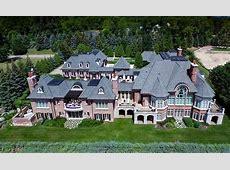 $105 Million Brick & Stone Mansion In Bloomfield Hills