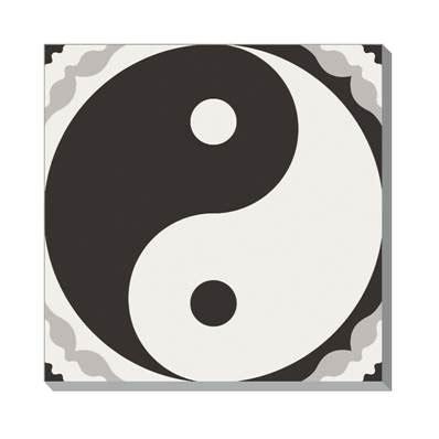 Fosil Motif Yin Yang su300 motif yin yang