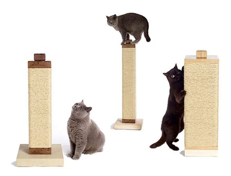 cat scratching post sisal modern sisal cat scratching posts from billie