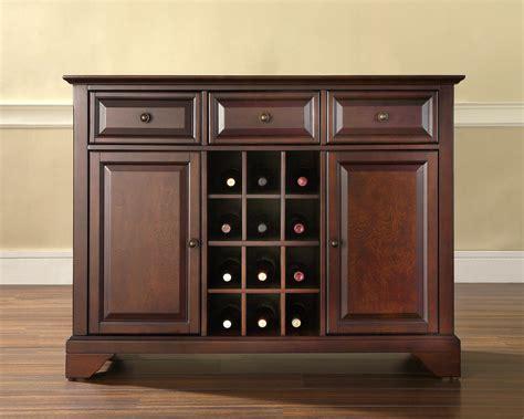 kitchen server furniture crosley lafayette buffet server sideboard cabinet with