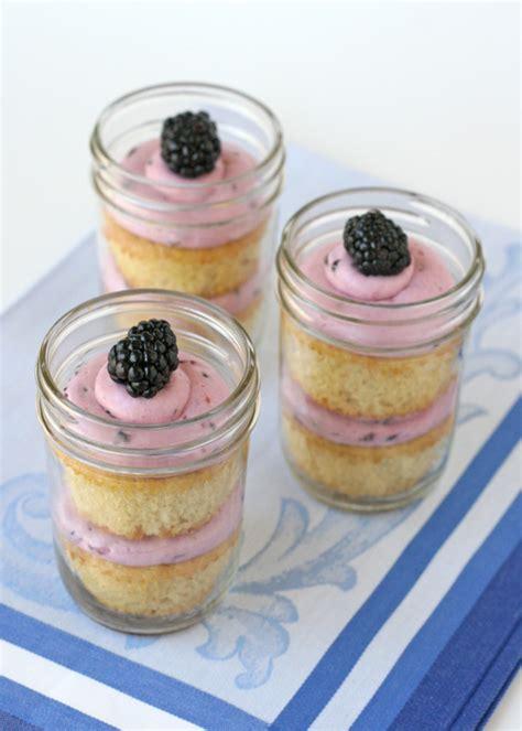 cupcake in a jar recipe blackberry vanilla cupcakes in a jar glorious treats