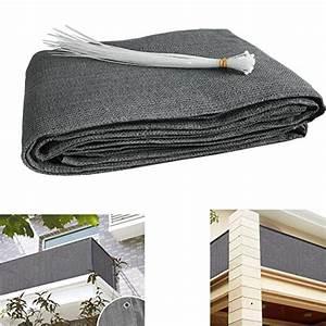 Brise Vue Opaque : brise vue pour balcon protection uv tissu opaque pour ~ Premium-room.com Idées de Décoration