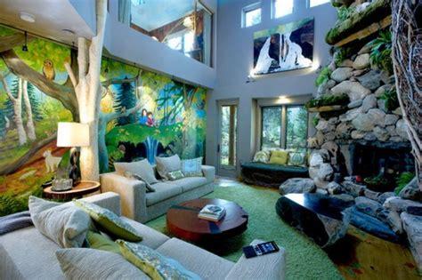 animal inspired decor ideas   living room