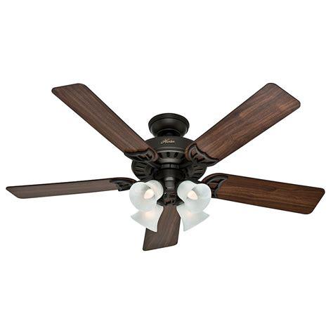 hunter fan light bulbs hunter fan company studio series new bronze ceiling fan