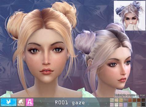 R001 Gaze hair (Pay) at Newsea Sims 4 » Sims 4 Updates