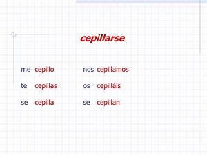 PPT - Los Verbos Reflexivos en español… PowerPoint ...