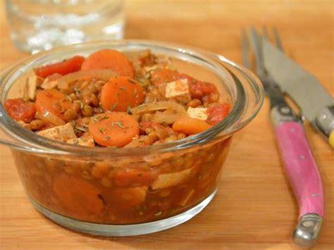 cuisine lentilles vertes recettes de lentilles vertes et cuisine végétarienne