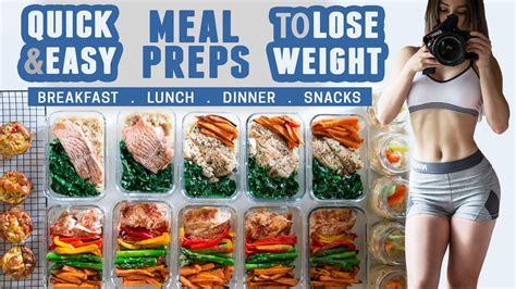 meal prep quick easy healthy recipes  lose