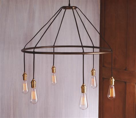 edison bulb chandelier nova68