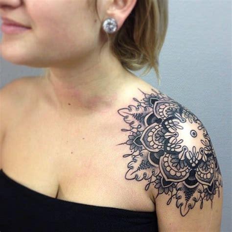 mandala shoulder tattoo designs ideas  meaning