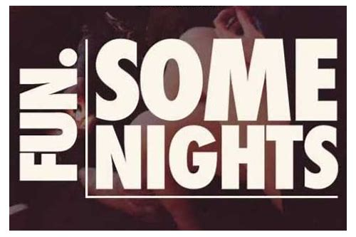 some nights fun mp3 free download skull