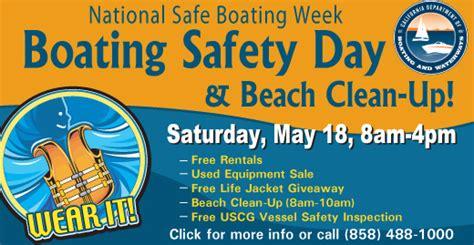 Kick Off The Summer Boating Season At Boating Safety Day