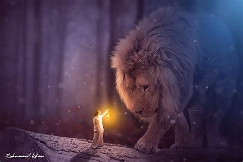 Permalink to Fantasy Lion Wallpaper