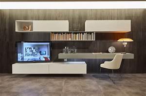 Schrankwand Mit Integriertem Schreibtisch : wohnw nde tv w nde lowboard und schreibtische ~ Sanjose-hotels-ca.com Haus und Dekorationen