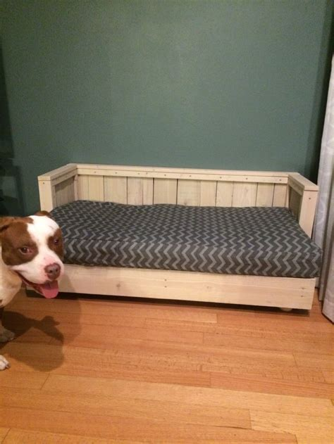dog bedcouch   pallet wood