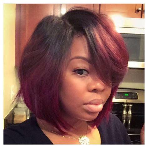 Sewed In Weave Hairstyles by Color Black Hair Hair Styles Hair Hair