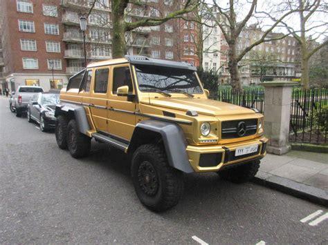 mercedes benz jeep gold mercedes benz g63 amg 6x6 chrome matte gold look around