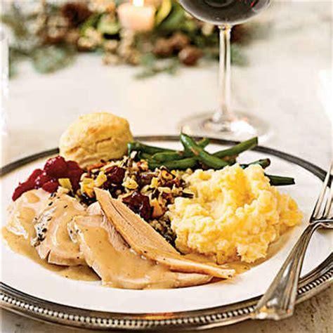 typical thanksgiving dinner traditional thanksgiving menus myrecipes