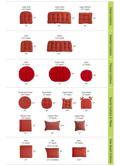 Pier One Outdoor Cushion Care by Cushion Guide Pier 1 Imports