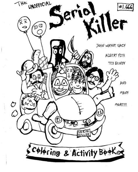 serial killer coloring book rich hillen jrs mind