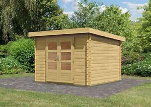 Gartenhaus Holz Pultdach : woodfeeling gartenhaus pultdach bastrup 5 28 mm ~ Articles-book.com Haus und Dekorationen