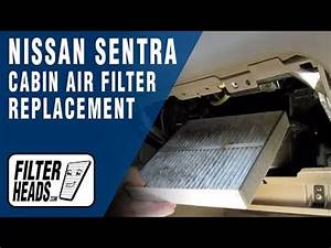 How To Replace Cabin Air Filter Nissan Sentra